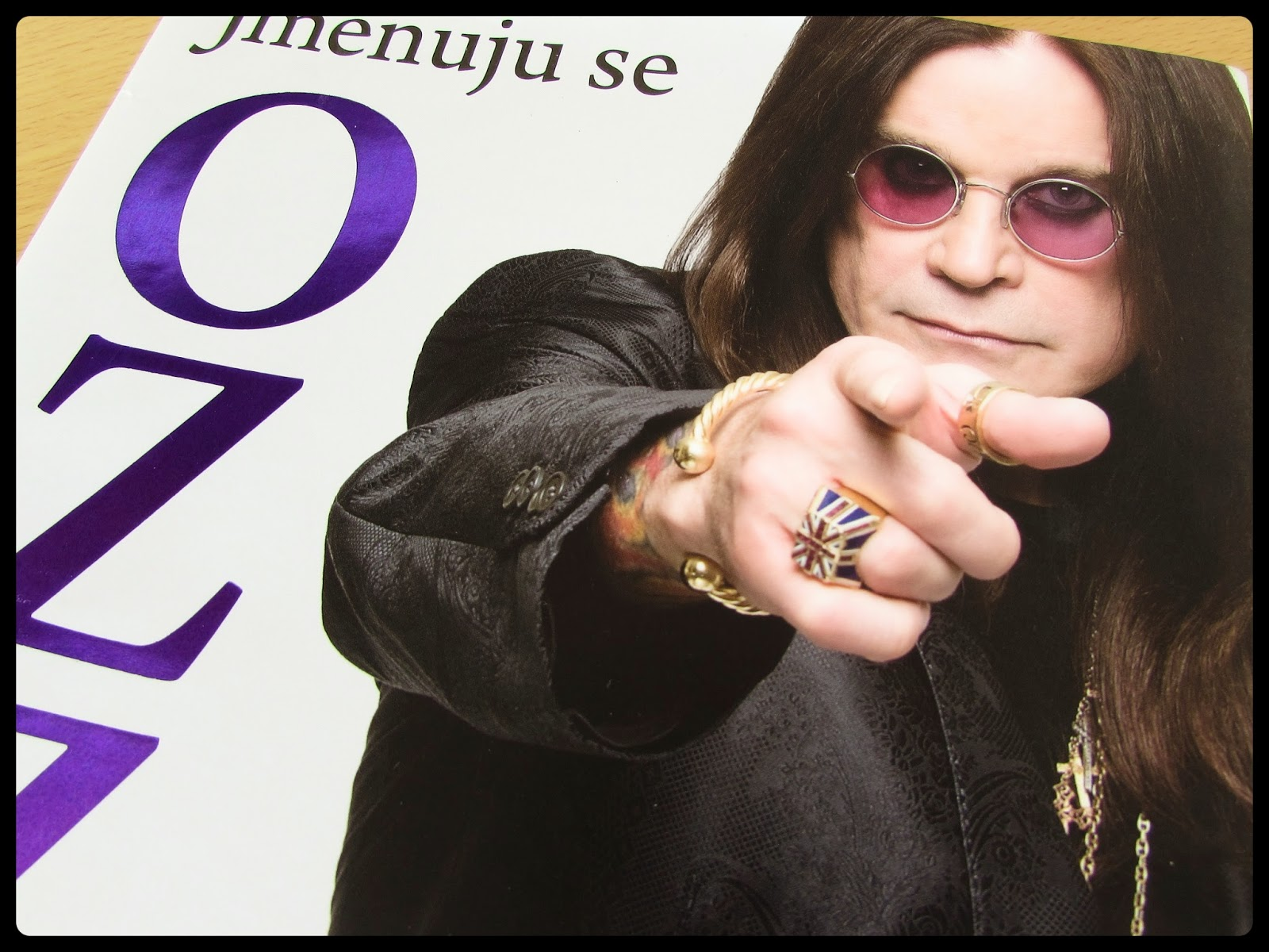 I am Ozzy, the funniest autobiography