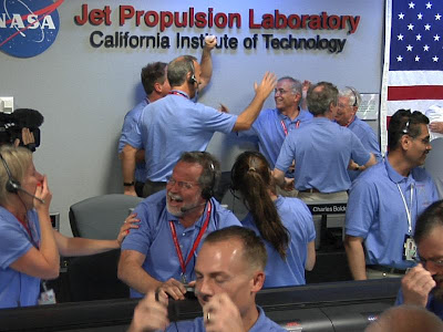 NASA JPL Mission Control