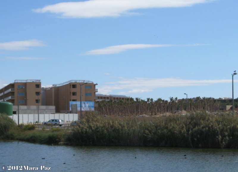Unfinished resort at Salgados Beach, Algarve