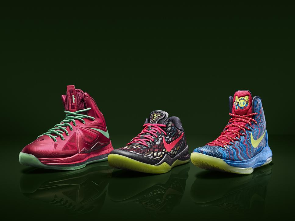 SNKROLOGY: A SOFT SPOT: Nike Basketball unwraps Christmas Day ...
