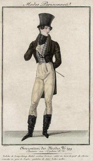 Observateur des Modes 1821