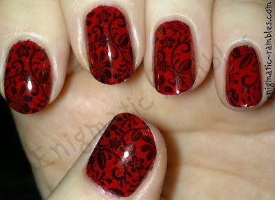 red-black-lace-stamped-stamping-nails-opi-whats-your-point-setta-moyou-special-nail-polish-bornprettystore-born-pretty-store-bornprettystore02-bp02