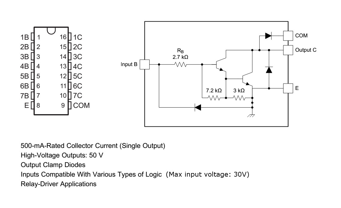 Cool Emerald Driving 28byj 48 5v Stepper Motor With Uln2003a Driver Circuit Using Transistor Figure