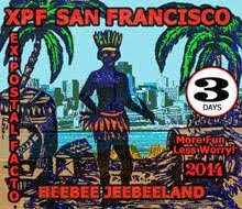 Goodbye XPF - A great time was had by all. San Francisco was a Mail Art Woodstock!