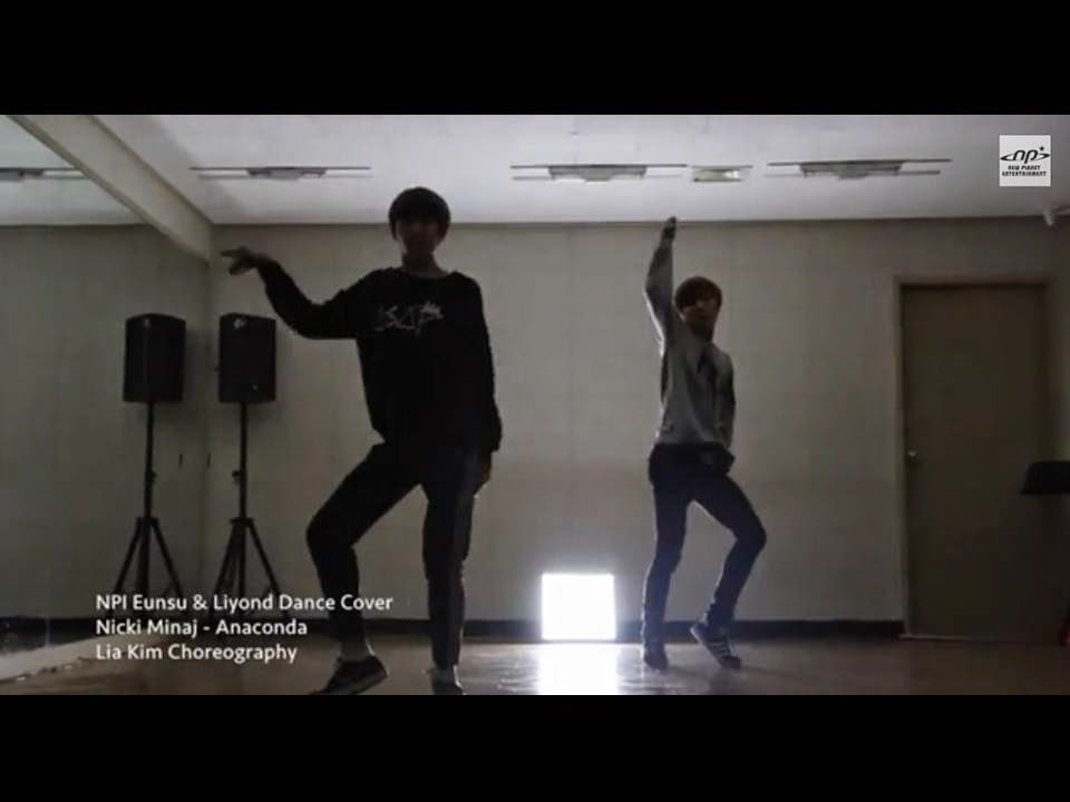 NPI's Liyond & Eunsu's dance cover of Nicki Minaj's 'Anaconda'