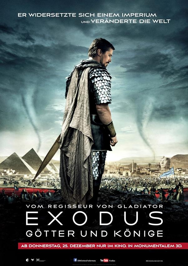 Exodus: Dioses y reyes póster