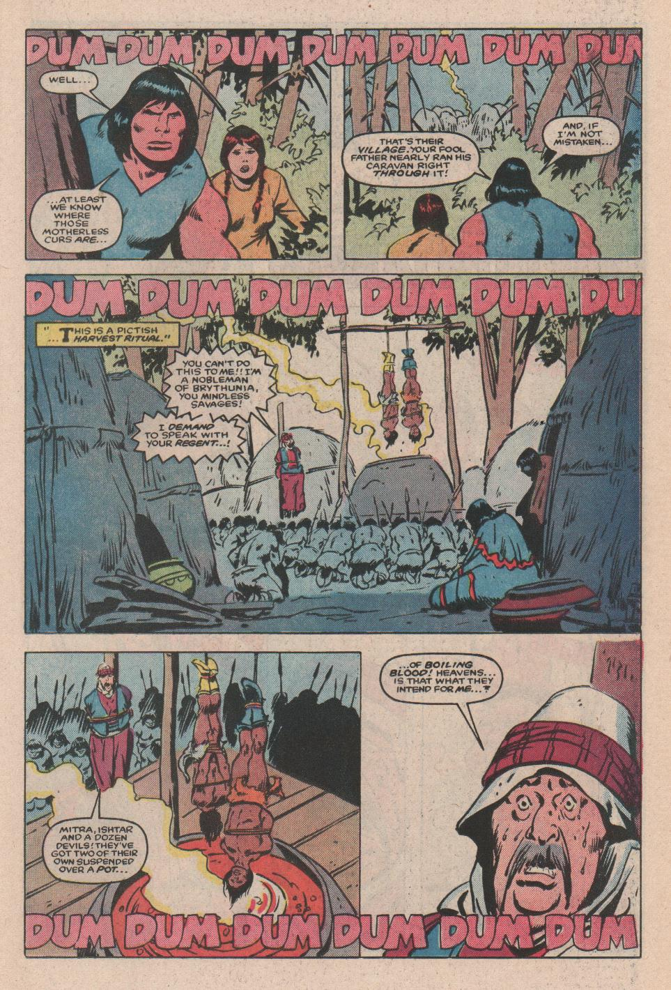 Conan the Barbarian (1970) Issue #172 #184 - English 10
