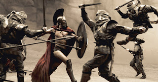 movie still from 300