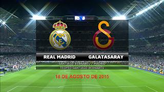 Real Madrid vs Galatasaray En vivo 18-08-2105, Por El torneo Bernabeu lo televisa Directv Sports 2