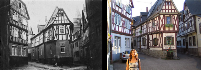 Braubach Then and Now