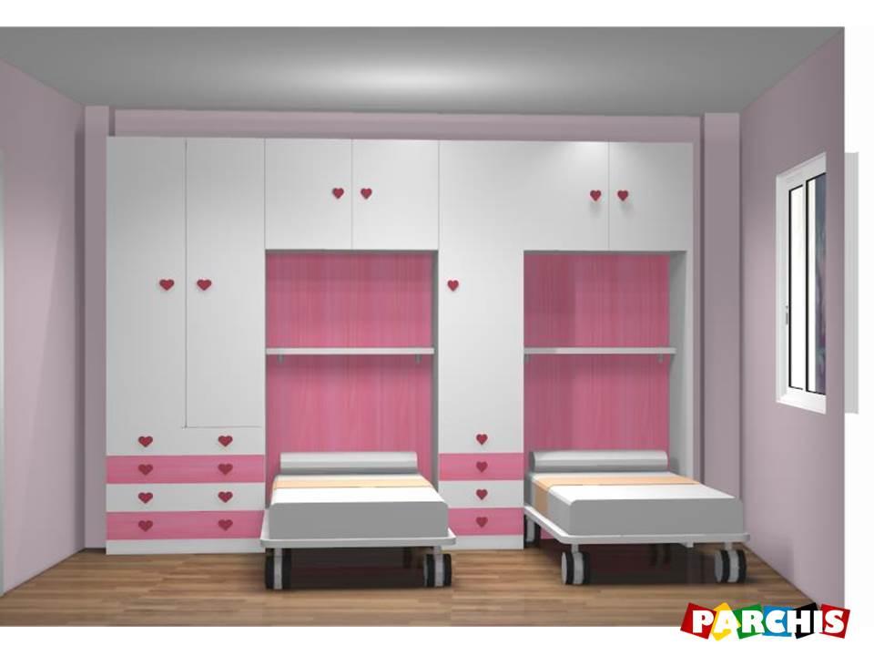 Muebles juveniles dormitorios infantiles y habitaciones for Habitaciones juveniles nina