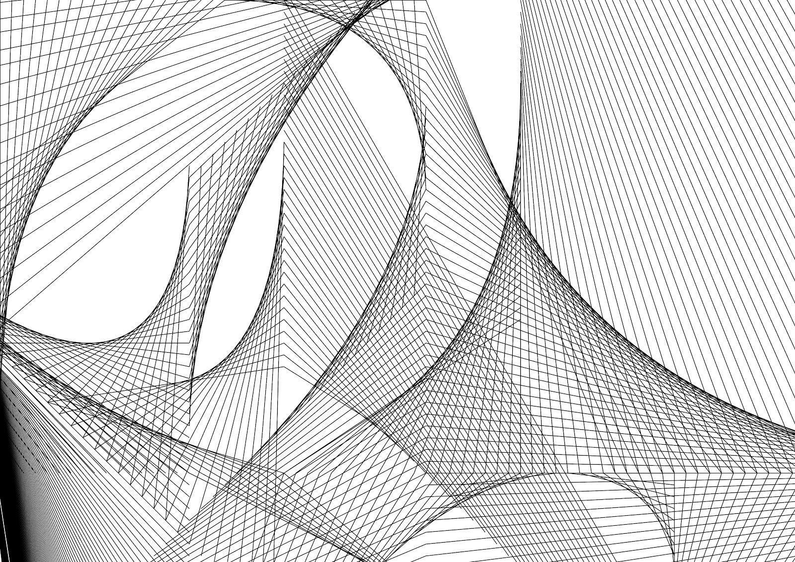 Drawing Using Only Lines : Tomwharton images geometric lines