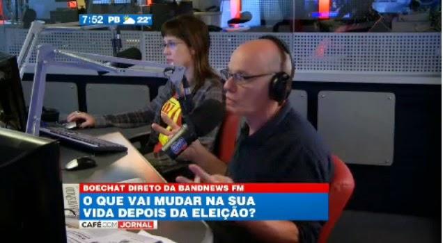 Boechat: O Lula tem ido a um nível de loucura assustador em seus discursos