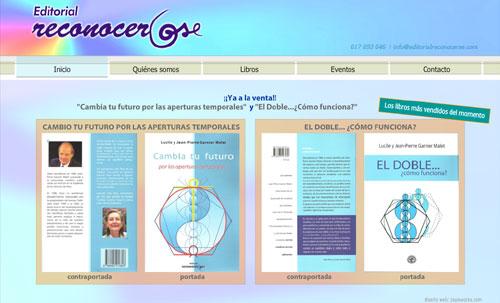página web de la Editorial Reconocerse
