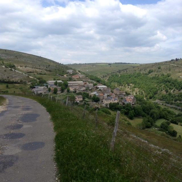 overlooking Paros, Languedoc, France