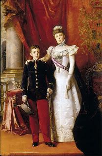 Alfonso XIII y María Cristina Regente (1898), Luis Álvarez Catalá