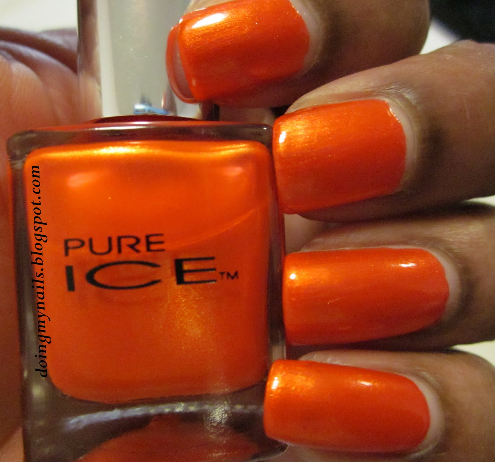 Doing My Nails: Pure Ice-Hot Tamale