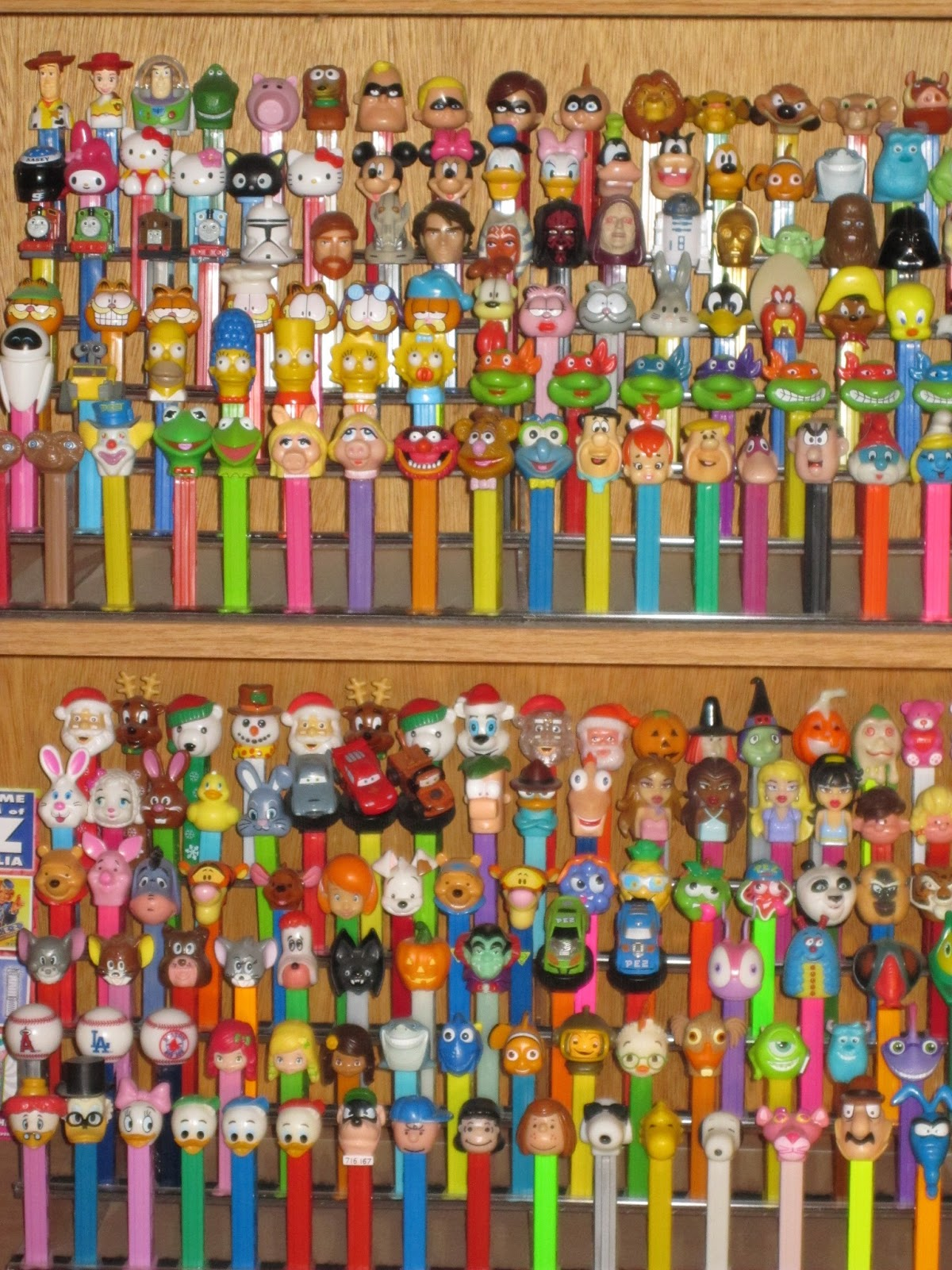 My Pez® Collection | I began collecting Pez® in the mid-eigh… | Flickr