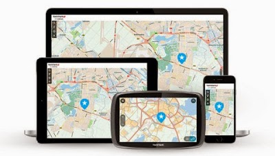 TomTom MyDrive website and app connects smartphone, tablet and PC to TomTom GO