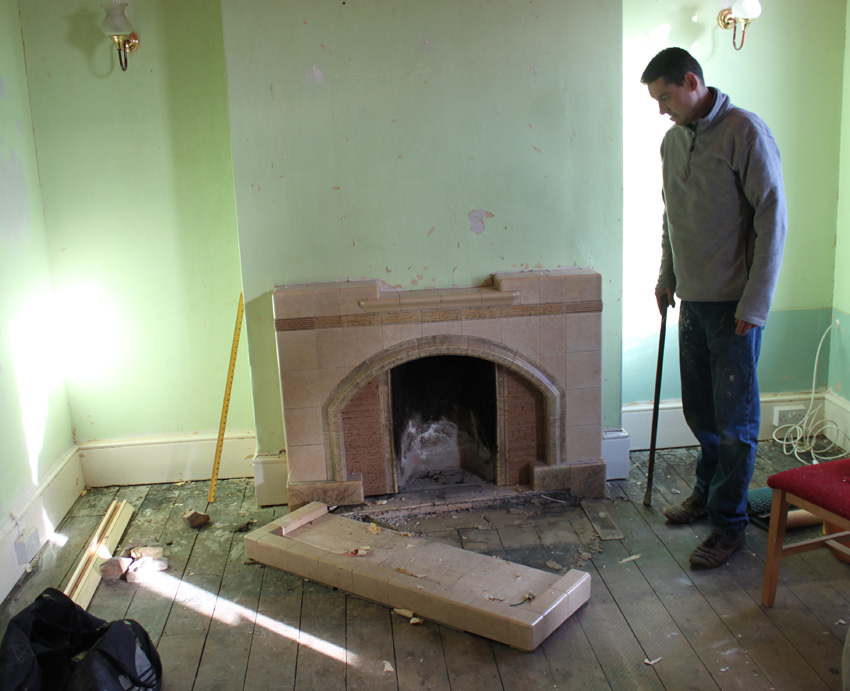 My Victorian House The Time Travelling Fireplace