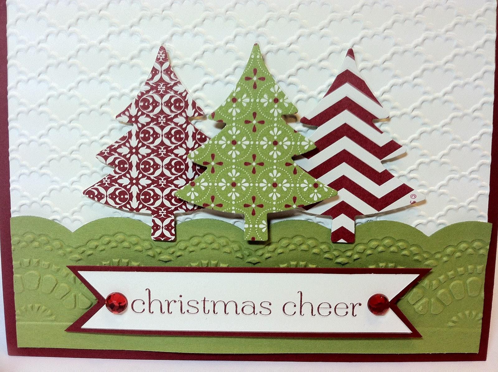 Scrapbook ideas christmas card - Card Recipe