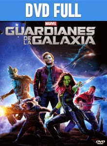 Guardianes de la galaxia DVD Full Español Latino 2014