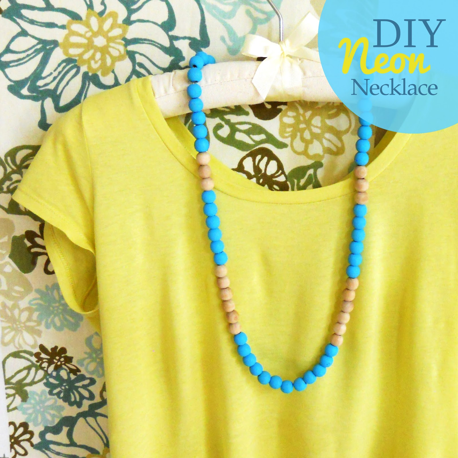 DIY-neon-wooden-bead-necklace