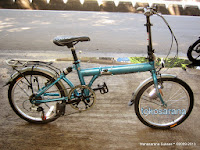Sepeda Lipat Langtu TK027