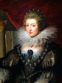 Atelier de Rubens, Portrait Anne d'Autriche, musée du Louvre