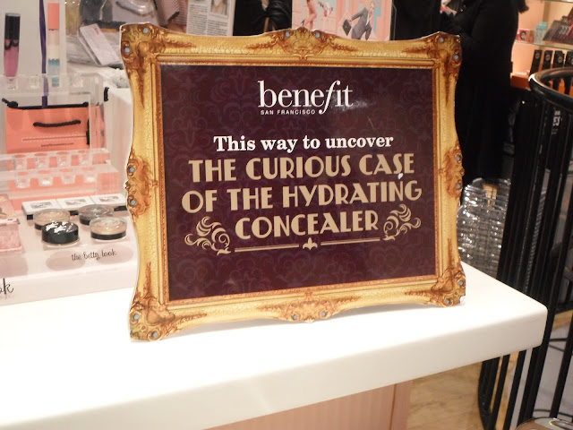 benefit fake up launch concealer hydrating sign