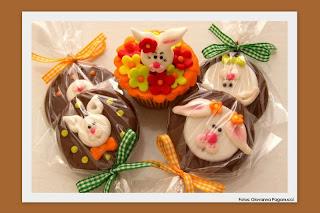 doce pirulito chocolate páscoa coelho
