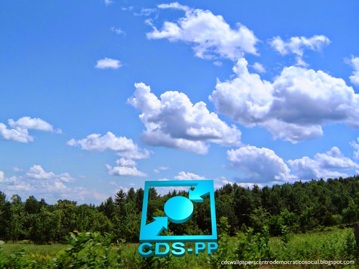 Papel de parede do Partido Centro Democrático Social emblema Stencil Inclinado do CDS-PP para utilizar como fundo de tela Floresta Tropical do seu ambiente de trabalho