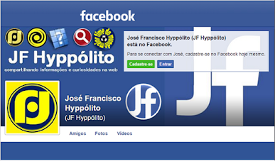 FACEBOOK OS BLOGS DO JF