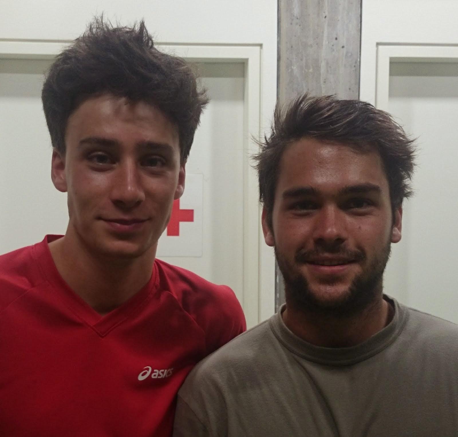 Luca und Fabian