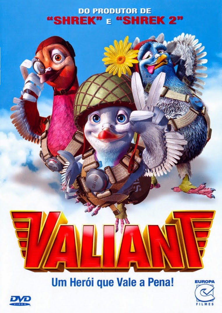Valiant: Um Herói que Vale a Pena – Dublado (2005)