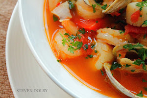 "Seafood a la Coltré or better known as ""Zuppa di Pesce""."
