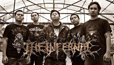 The Infernal Band Death Metal Medan Foto Logo Wallpaper
