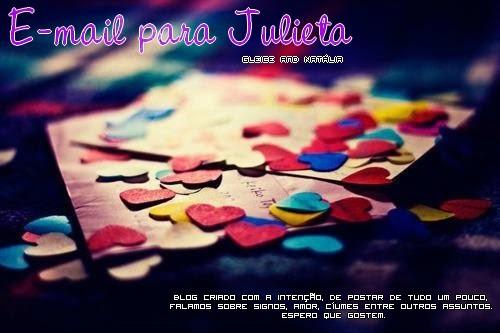 E-mail para Julieta