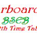 Bihar Class 12th / Intermediate Exam Time Table 2013 - Biharboard.net