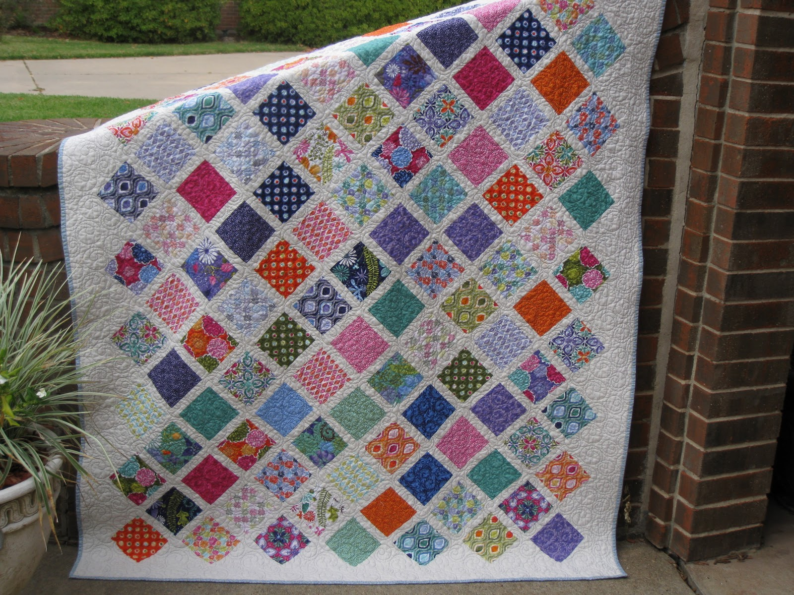 Quilt Patterns From Squares : Millie s Quilting: Two Charm Square Quilts