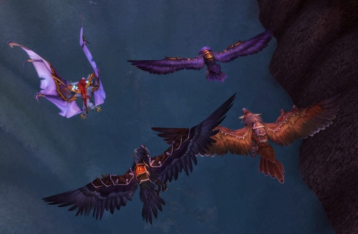 Druid: Flight Form in Draenor