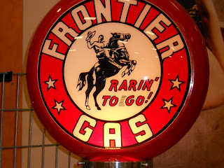 old gas pump sign