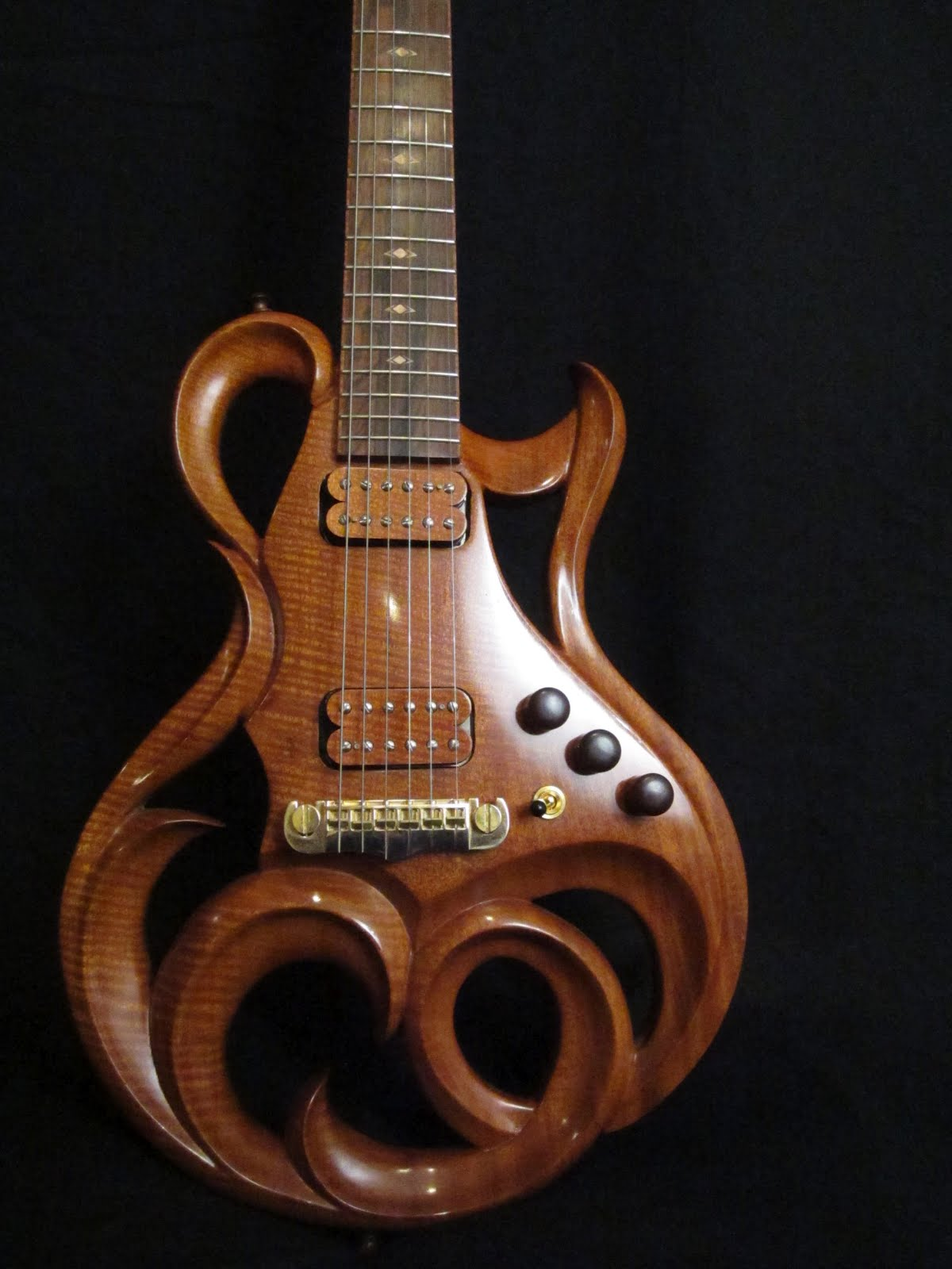 Rigaud Guitars Blog: Details of the Rigaud Electric Custom ...