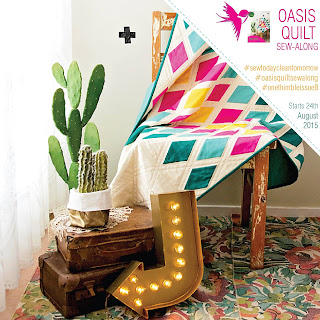 Oasis Quilt Sew Along