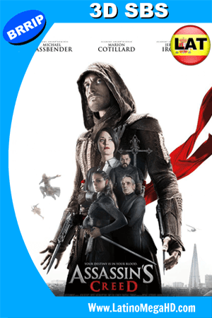 Assassins Creed (2016) Latino Full 3D SBS 1080P ()