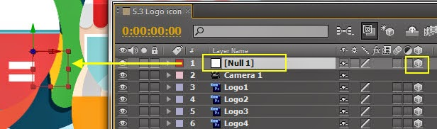 Use Null object control DOF 05