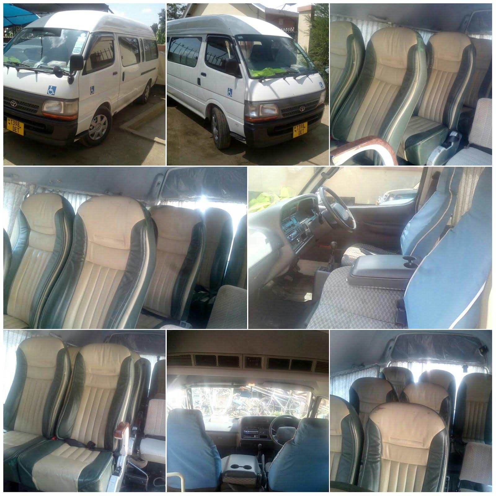 Hiace/Van For hire Contact 0767893531