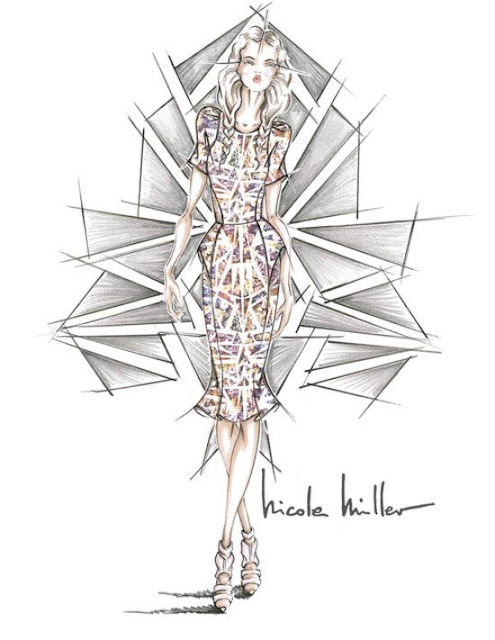 Sneak Peek: Designer sketches for NYFW, S/S Collections 2014