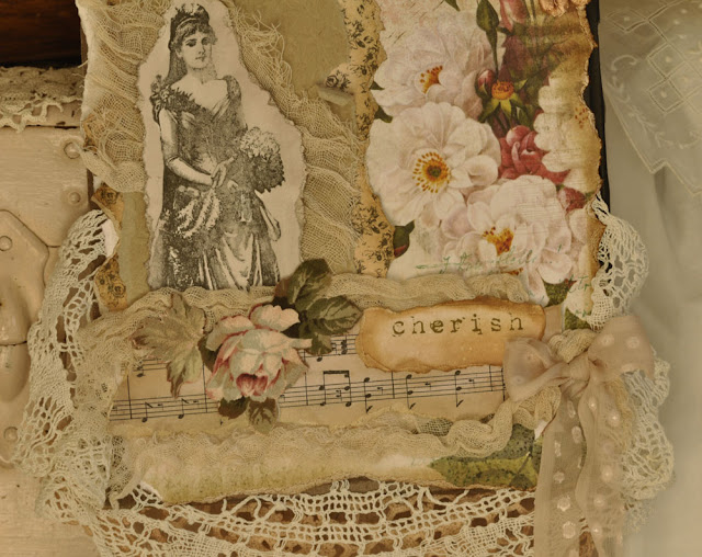wedding lace collage by Jesse Rowan