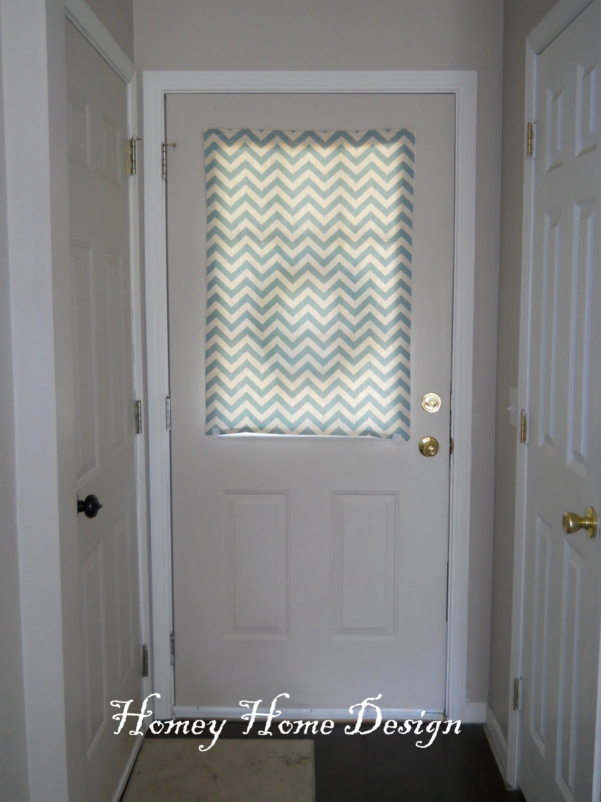 Entry Door Window Blinds Submited Images